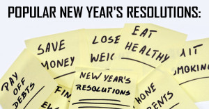 Popular New Year's Resolutions