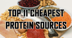 Top 11 Cheapest Protein Sources