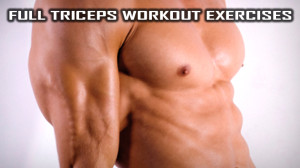 Full Triceps Workout exercises