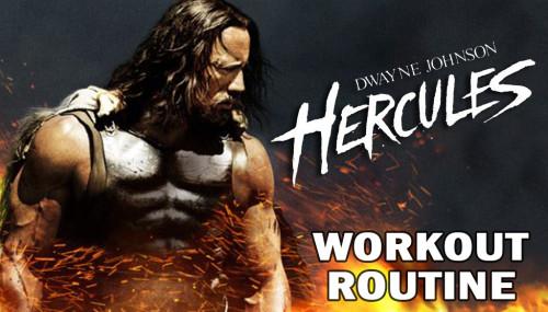 Dwayne Johnson Hercules Workout