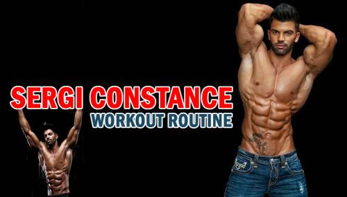 Sergi Constance Workout Routine