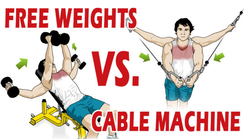 Free Weights Vs Cable Machine
