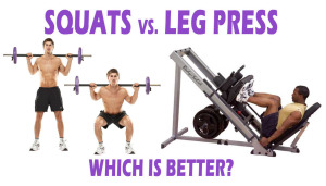 Squats Vs. Leg Press: Which is Better?