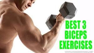 Best 3 Biceps Exercises