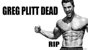 Greg Plitt Dead