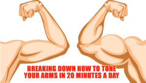 Breaking Down How to Tone your Arms in 20 minutes a day