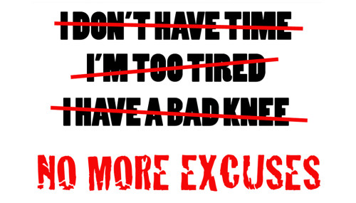 10 Ways to Conquer Workout Excuses