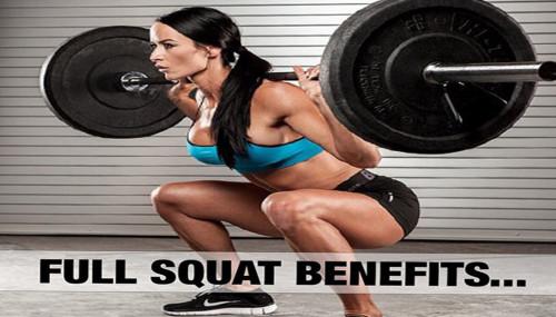 Full Squat Benefits...