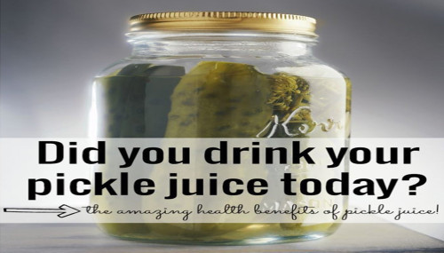 The Amazing Health Benefits Of Pickle Juice!