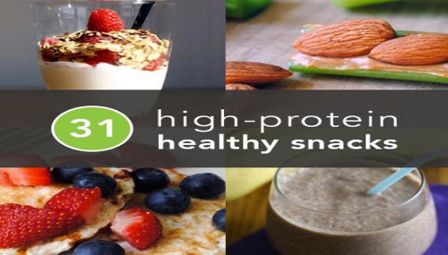 31 High-Protein Healthy Snacks