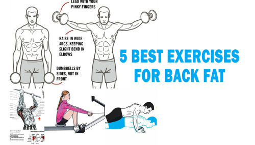 5 Best Exercises For Back Fat