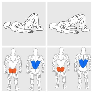 Hip Raises Sixpack And Low Back Workout