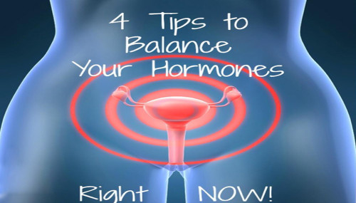 4 Tips to Balance Your Hormones