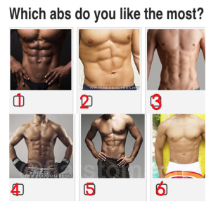 Can We Guess Your Personality Based On Your Choice Of Abs?