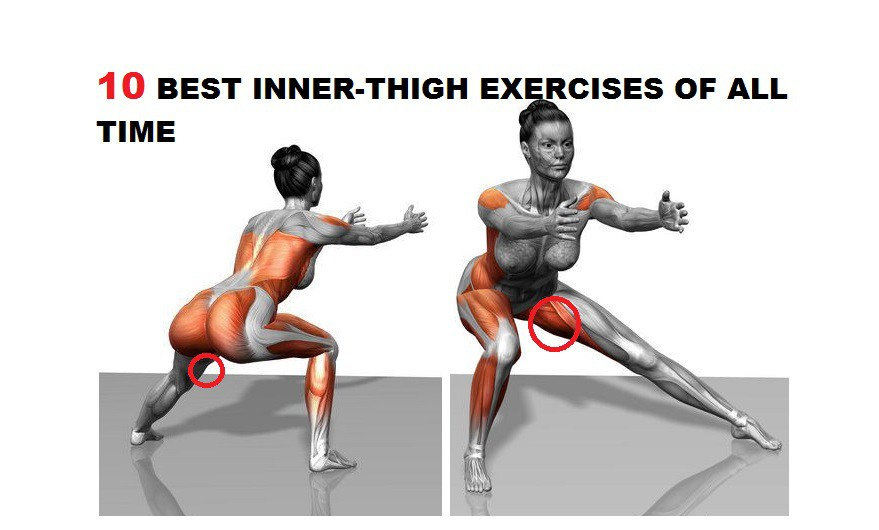The Best Inner Thigh Exercises Of All Time Fitness Workouts