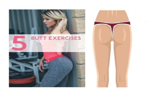 Top 5 Exercises for a Tight, Toned, and Lifted Butt