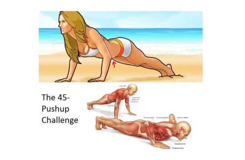 This 45 push-up challenge will completely change your body in 28 days