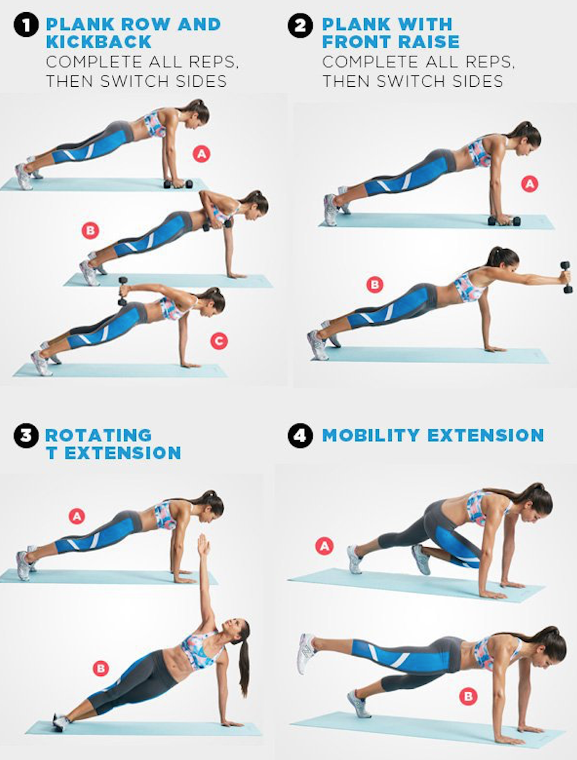 THE PLANK WORKOUT THAT WILL TONE