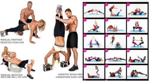 Partner Workouts - Building The Perfect Body - Better Together