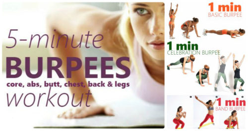 The Supreme Fat-Blasting Burpee Workout With 7 Burpee Variations