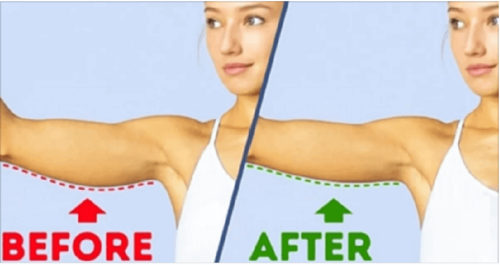 Toned Arms With 4 Easy Exercises