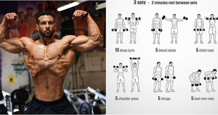 The Best Upper Body Muscle Building Exercises | Fitness