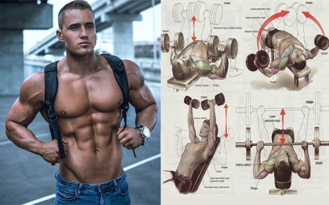 top 10 chest exercises to get ripped for this summer fitness