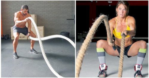 Get Fit and Shed Fat Using Battle Ropes