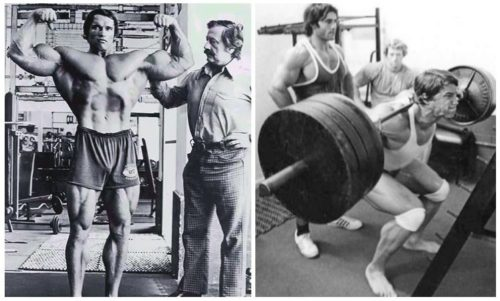 Arnold Schwarzenegger's 'Golden Six' routine for building strength and size