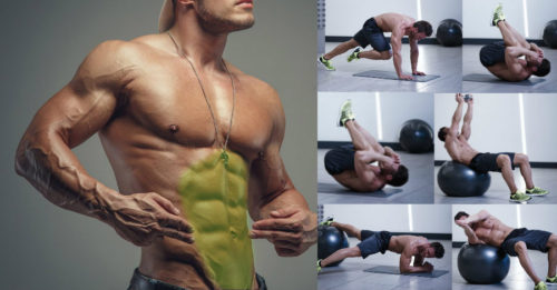 6-Pack Workout – Challenge Upper, Lower And Side Abs