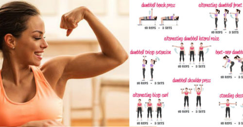 30-Day Upper-Body Workout and Exercises For Jaw Dropping Definition