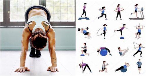 10 Cardio Blasting Bedroom Exercises To Burn Body Fat
