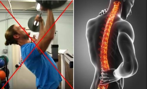 Two of the worst mistakes that expose your spine to a greater risk of injury