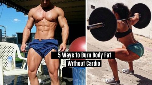 5 Ways to Burn Body Fat Without Cardio